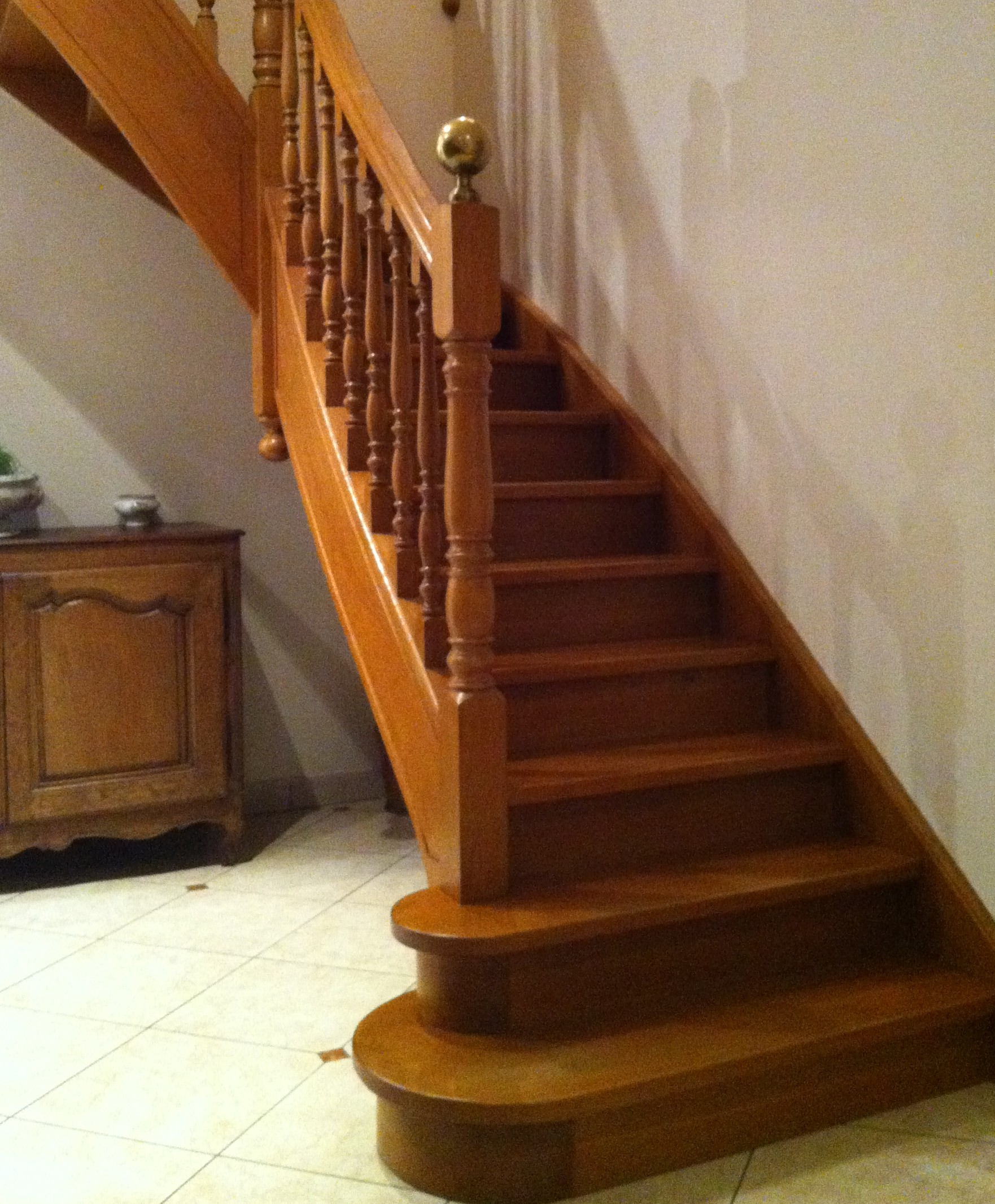 r novation et cr ation escalier traditionnel delalleau. Black Bedroom Furniture Sets. Home Design Ideas