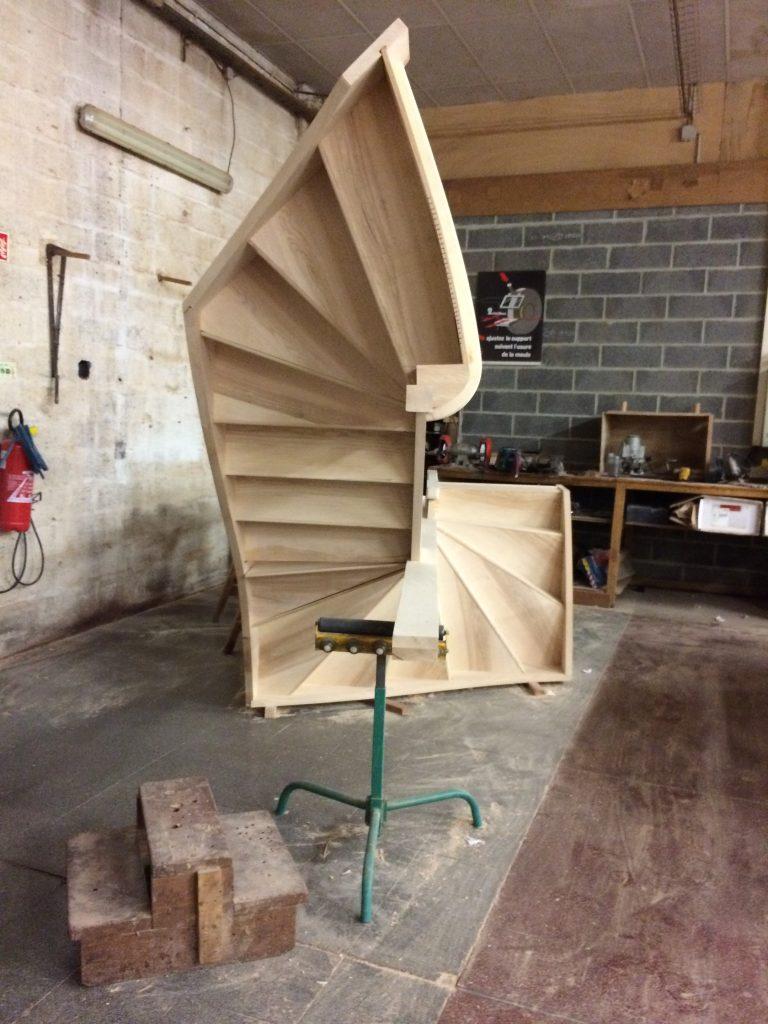 Fabrication d 39 escalier escaliers delalleau - Fabrication escalier beton ...